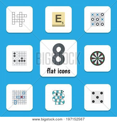Flat Icon Play Set Of Guess, Multiplayer, Arrow And Other Vector Objects