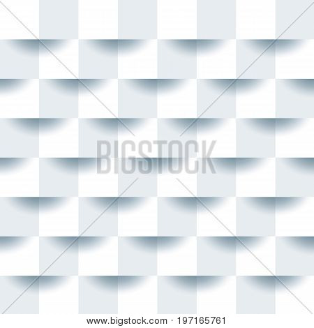 White geometric texture. Vector clean paper background. Can be used in advertising cover design business design website.