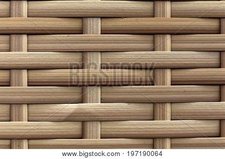 Bamboo Brown Straw Mat.