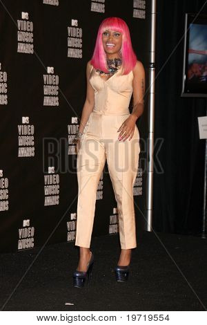 LOS ANGELES - SEP 12:  Nicki Minaj  in the Press Room  at the 2010 MTV Video Music Awards  at Nokia - LA Live on September 12, 2010 in Los Angeles, CA