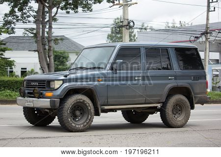 Private Suv Car, Toyota Prado