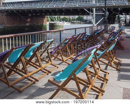 Deckchairs In London