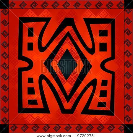 African Cultural Ornaments 206.eps