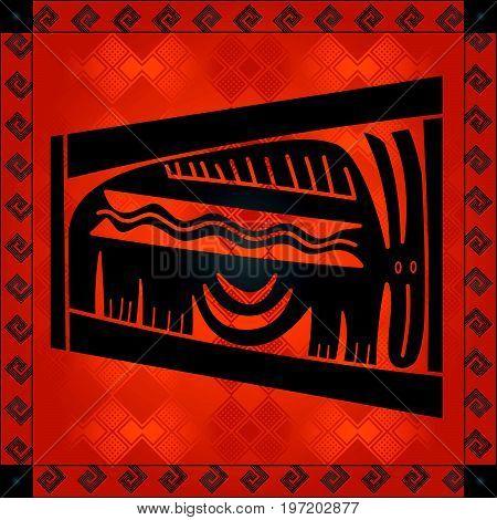 African Cultural Ornaments 209.eps