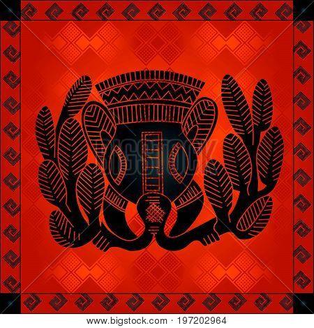 African Cultural Ornaments 211.eps