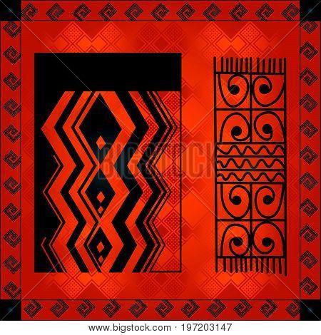 African Cultural Ornaments 217.eps