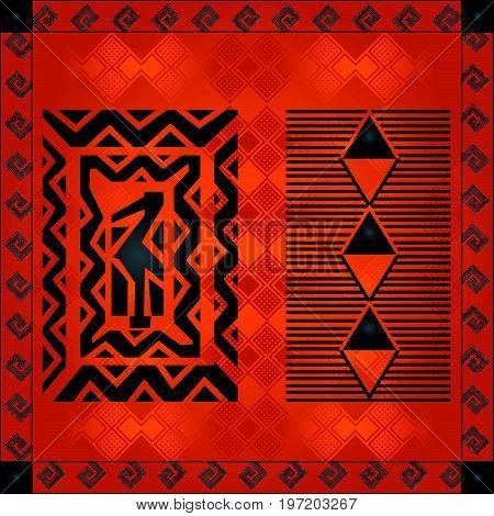 African Cultural Ornaments 219.eps