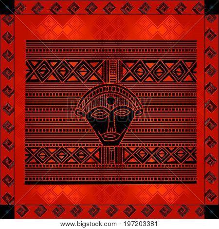 African Cultural Ornaments 224.eps