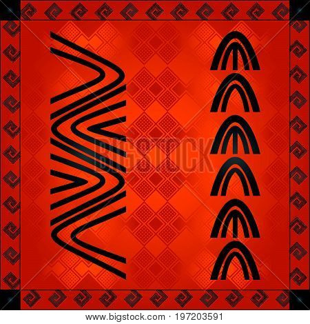 African Cultural Ornaments 228.eps