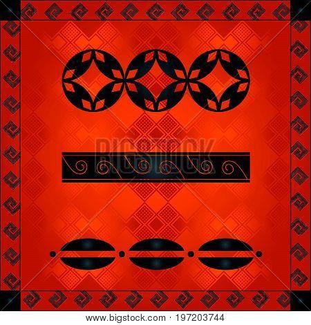 African Cultural Ornaments 234.eps