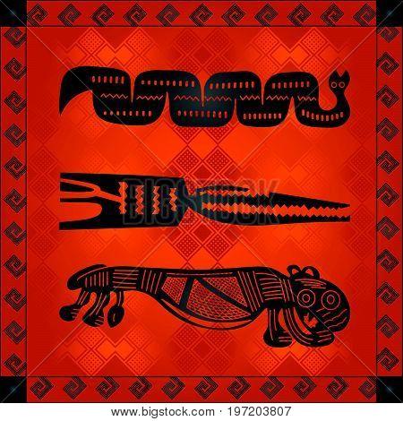 African Cultural Ornaments 237.eps