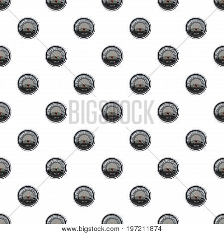 Speedometer at 160 km in hour pattern seamless repeat in cartoon style vector illustration