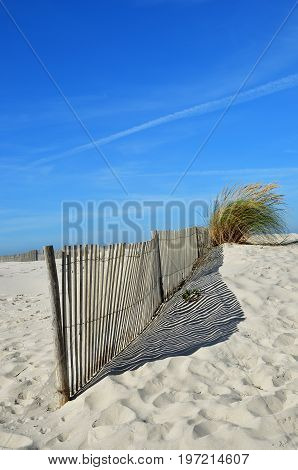 Costa Nova Beach In Aveiro, Portugal
