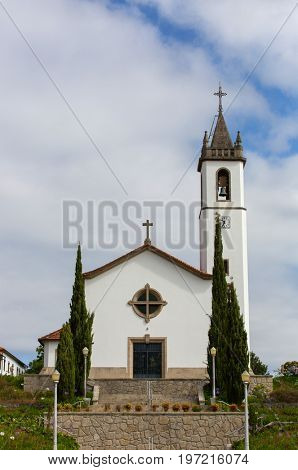Church of Paredes de Coura in Norte region, Portugal