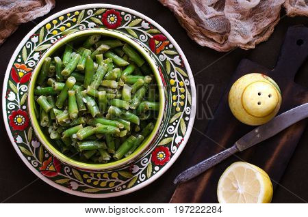 String Beans With Lemon And Dill Vegetarian