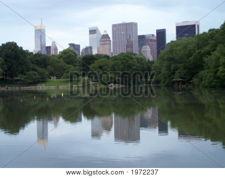 Reflection Of New York City