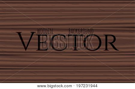 Wood texture, vector Eps10 illustration. Natural Rosewood Wooden cartoon Background.