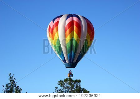 Hot Air Balloon at Balloonfest 2017, Howell, MI, USA