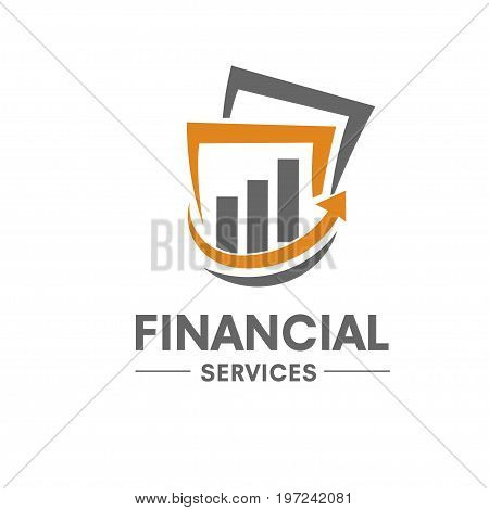 business Finance logo, modern Marketing and Finance logo concept business.