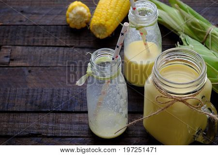 Healthy Drinking, Corn Milk