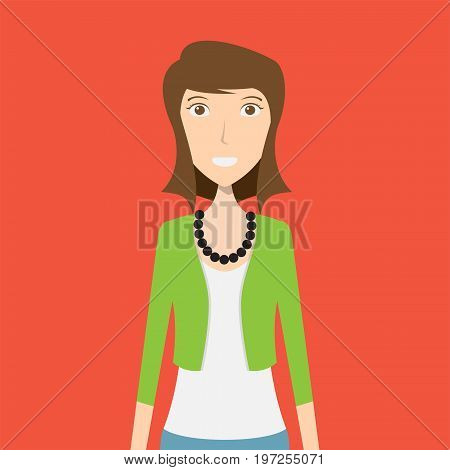 Casuallady Character | set of vector character illustration use for human, profession, business, marketing and much more.The set can be used for several purposes like: websites, print templates, presentation templates, and promotional materials.