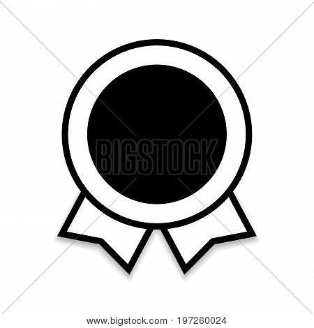 Ribbon Award Flat