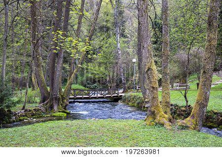 Nature Park Vrelo Bosne Near Sarajevo