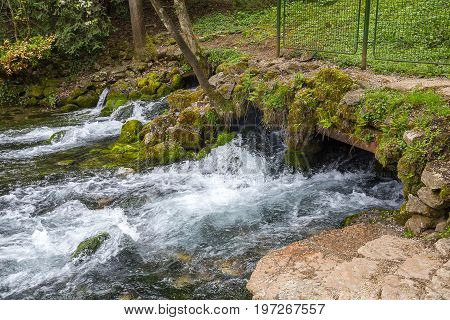 The Source Of The Bosna River