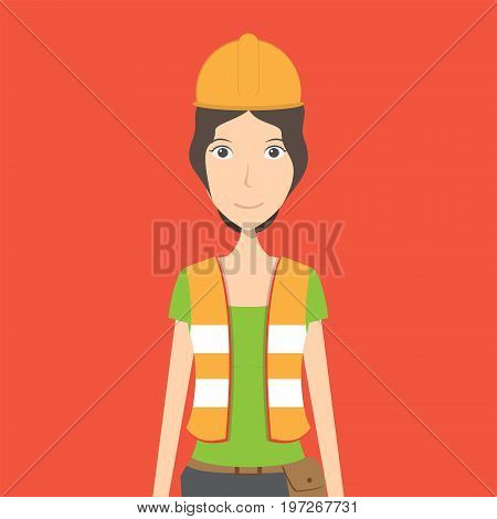 Engineer Character | set of vector character illustration use for human, profession, business, marketing and much more.The set can be used for several purposes like: websites, print templates, presentation templates, and promotional materials.