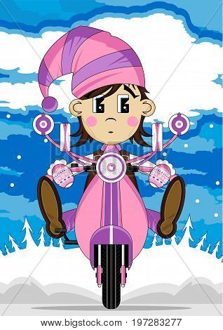 Elf On Scooter 3