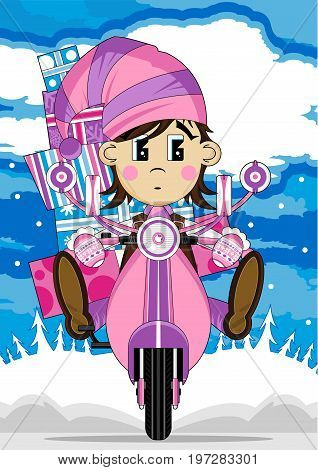Elf On Scooter 5