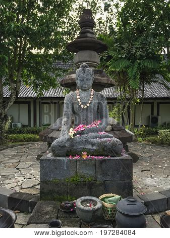 Ancient Statue In Yogya, Indonesia