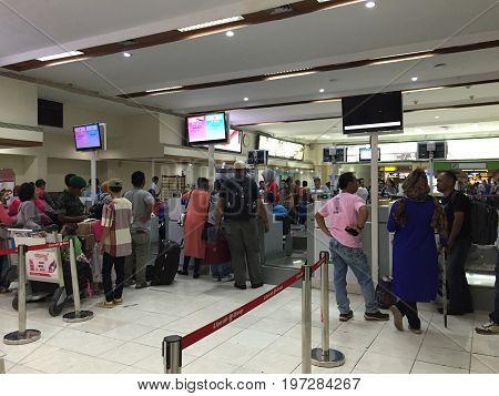 Adisutjipto Airport In Yogyakarta, Indonesia