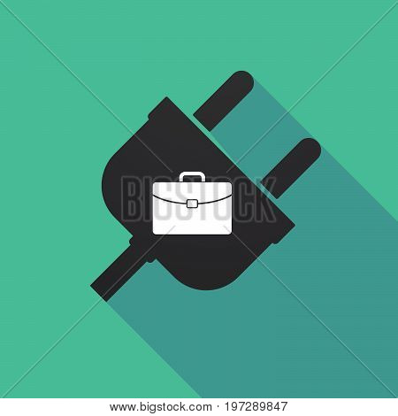 Long Shadow Plug With  A Briefcase