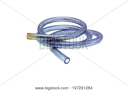 Gas hose object isolated on white background