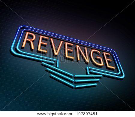 Neon Revenge Concept.