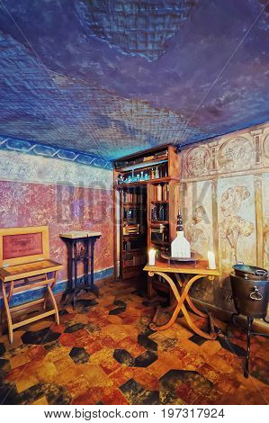 Black Magic Bar Room Interior Riga