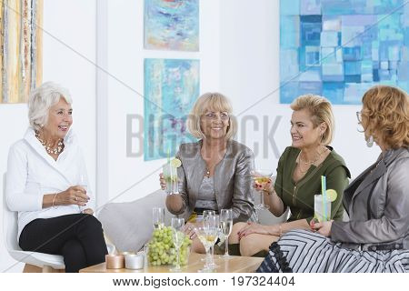 Friends Spending Time