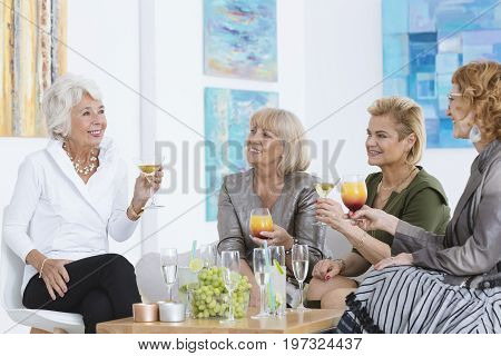 Ladies With Cocktails