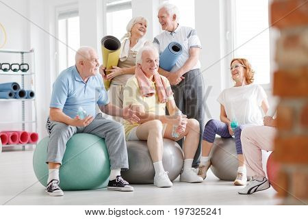 Seniors During Rehabilitation