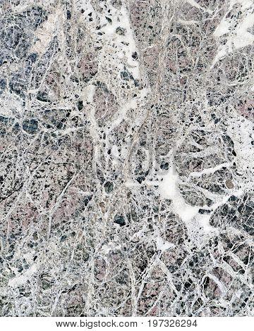 Marble Texture Of Loggia Dei Lanzi At Florence