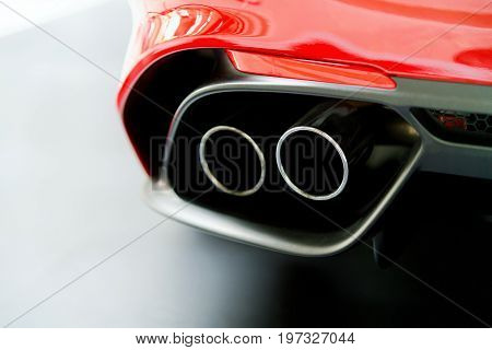 Exhaust Stack Pipe Of Italian Car