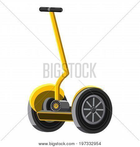 Alternative transport vehicle icon. Cartoon illustration of alternative transport vehicle vector icon for web design