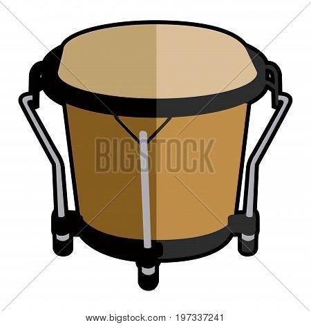 Isolated Bongo Drum Icon