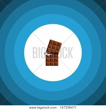 Wrapper Vector Element Can Be Used For Wrapper, Dessert, Chocolate Design Concept.  Isolated Dessert Flat Icon.