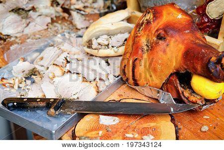 Italian Pork Cut In Slices