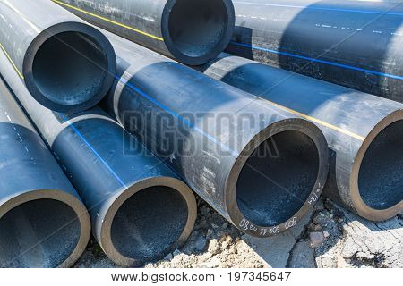 Thick-walled Water Pipes Of Large Diameter Pvc