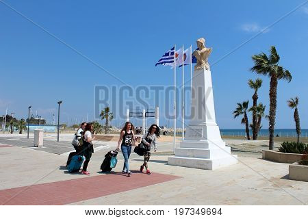 City View Of Larnaca, Cyprus