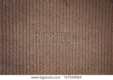 rusty metal background - pattern with a metallic mesh