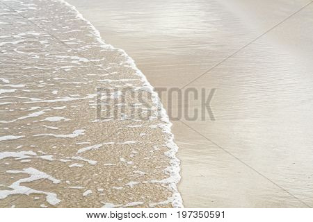Sea And Sand At Coastline Of Danang
